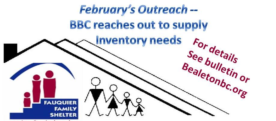 Bealeton Baptist Church Outreach