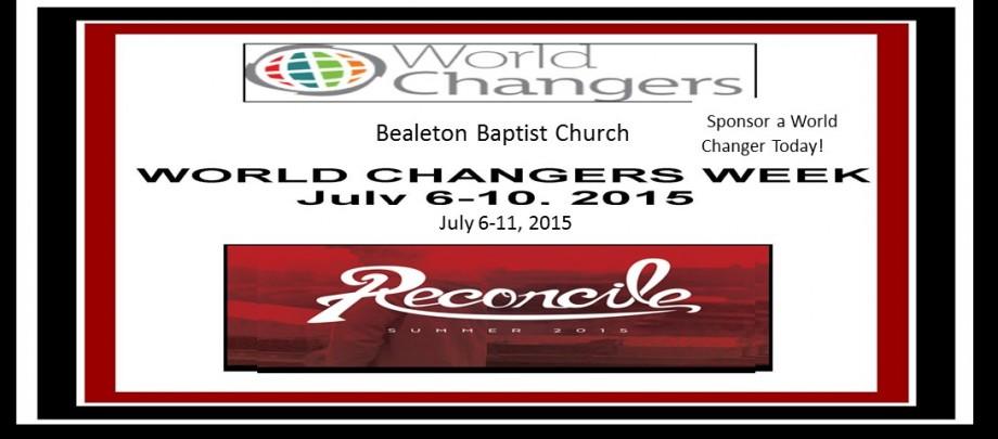 Bealeton Baptist Church World Changers